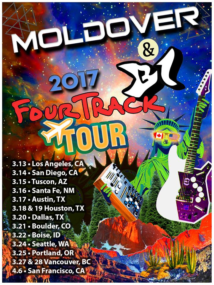 B1/MOLDOVER - FOURTRACK TOUR 2017