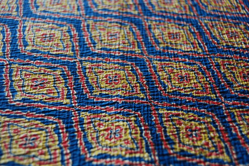 Papier Chirimen- papier froissé donnant un touché semblable au tissu de crêpe japonaise (chirimen)