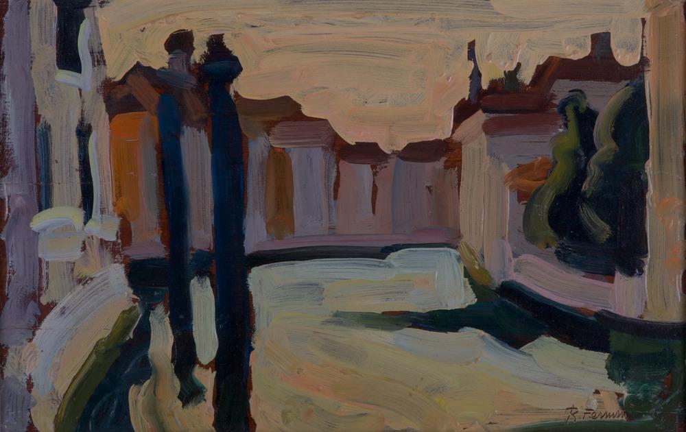 Canal Grande al tramonto