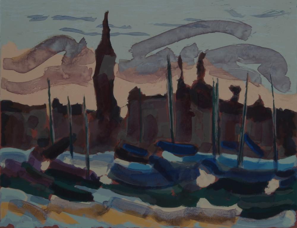 Barche a San Giorgio