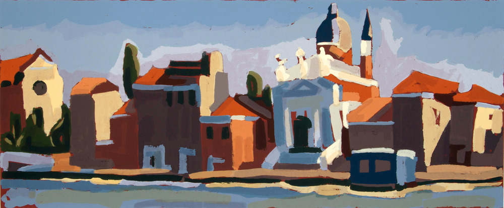 Chiesa del Redentore, 50 x 100 cm. Write to info@robertoferruzzi.com for a quotation.