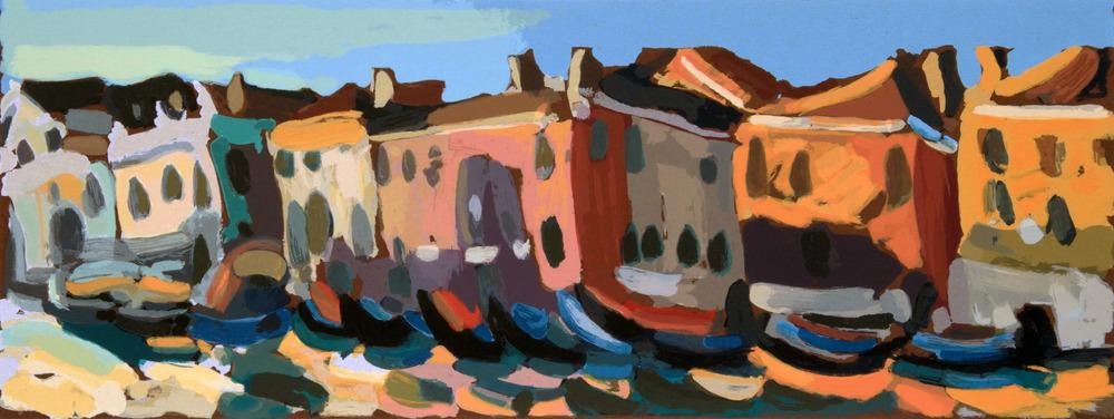 Traghetto Santa Sofia, 75 x 35 cm. Write toinfo@robertoferruzzi.comfor a quotation.