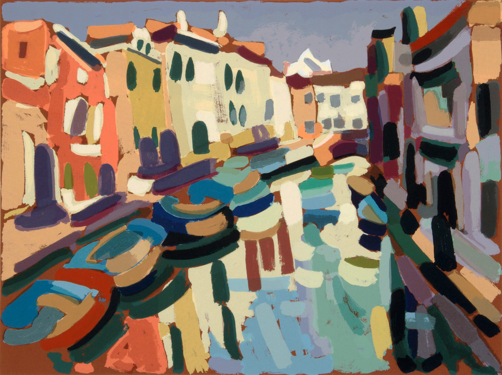 Rio della Madonna dell'orto, 70x50 cm. Write to info@robertoferruzzi.com for a quotation.