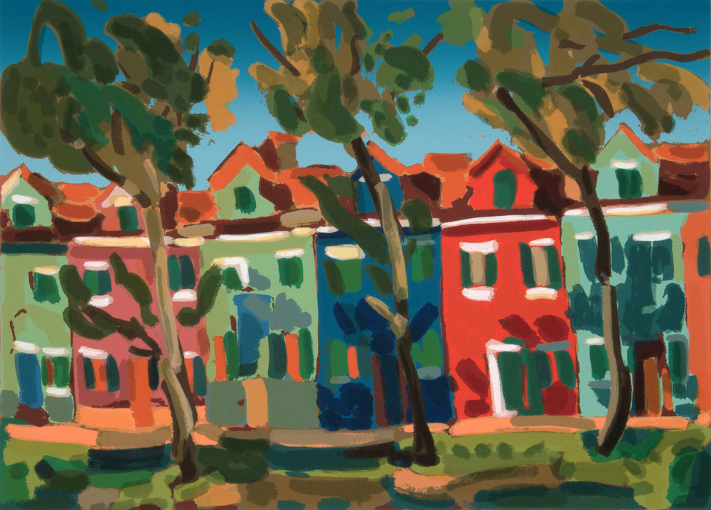 Burano, 70 x50 cm. Write to info@robertoferruzzi.com for a quotation.