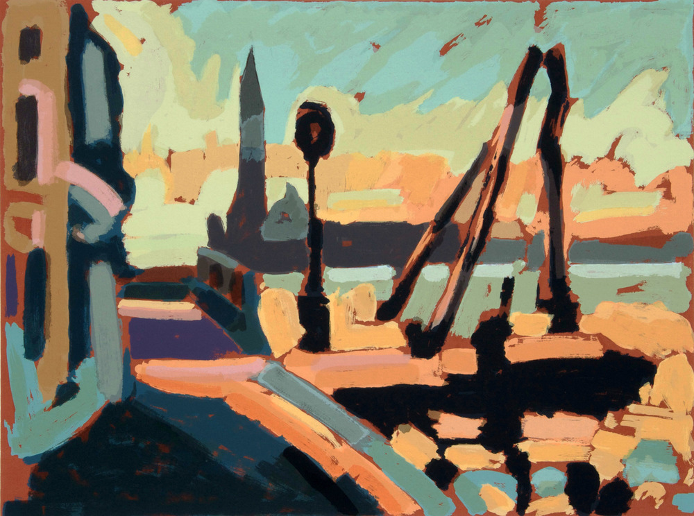 San Giorgio da casa di Cipriani, 70x50 cm. Write to info@robertoferruzzi.com for a quotation.