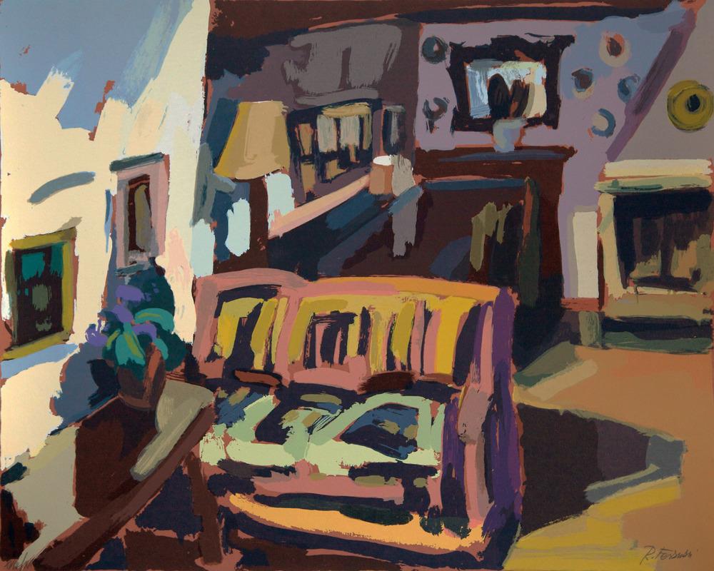 Lo studio, 50 x 60cm. Write toinfo@robertoferruzzi.comfor a quotation.