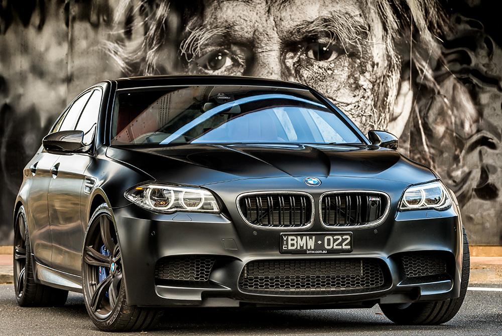 BMW M5 Nighthawk in Footscray