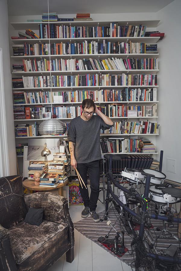 Bengt Lagerberg, Cardigans drummer