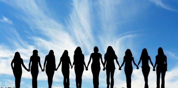 women silouette