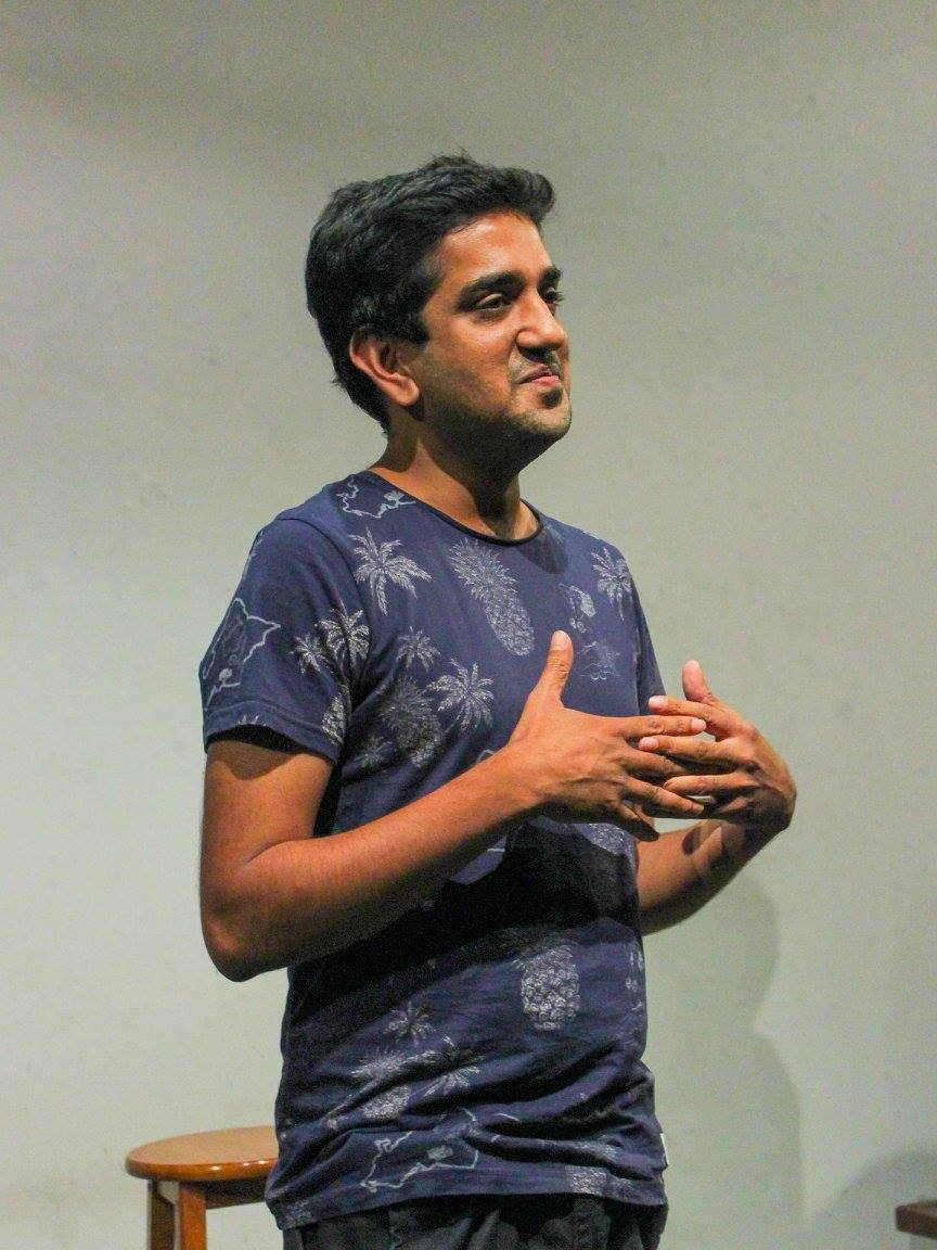 Ashwin at Cool Story Bro, April 2016. Image: Sam Clifford