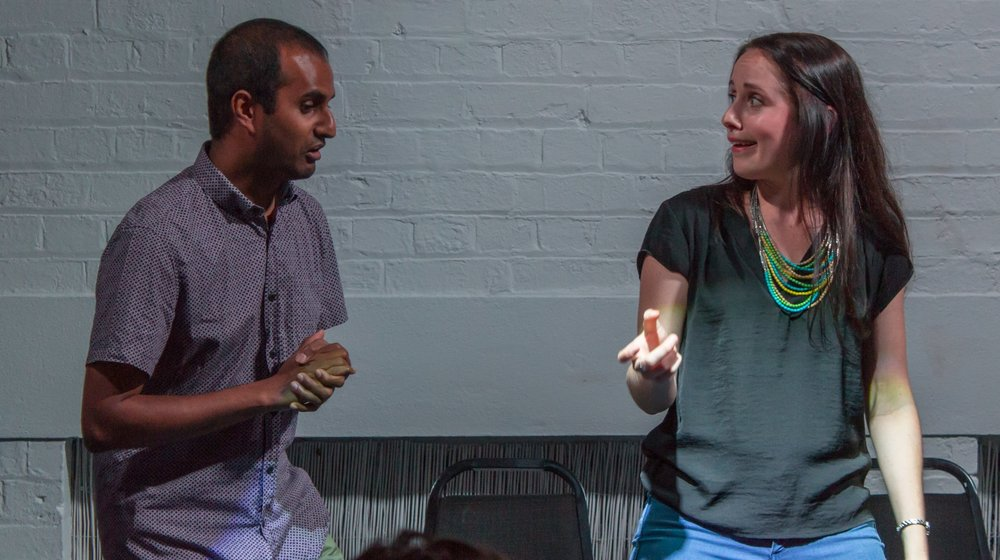 Improv Fundamentals    Learn Big Fork Theatre's style of scenic comedic improvisation. Explore your creativity, build confidence and have fun whilst developing the basic skills of improvisation.  The perfect place to start  if you have no previous performing experience.