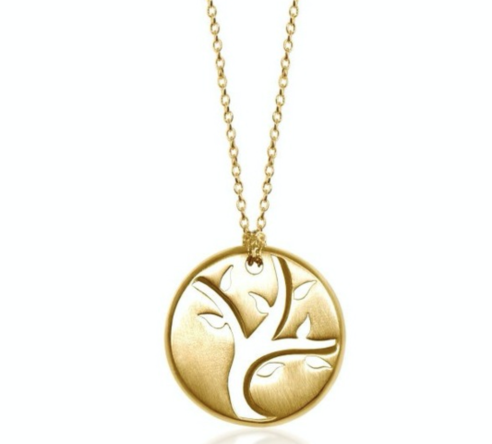 Tree Of Life Pendant - Not exactly pink, but true to the cause and stunning. Alex Woo's tree of life pendant was designed with the award winning actress and breast cancer survivor Christina Applegate, to represent harmony, hope and renewal.