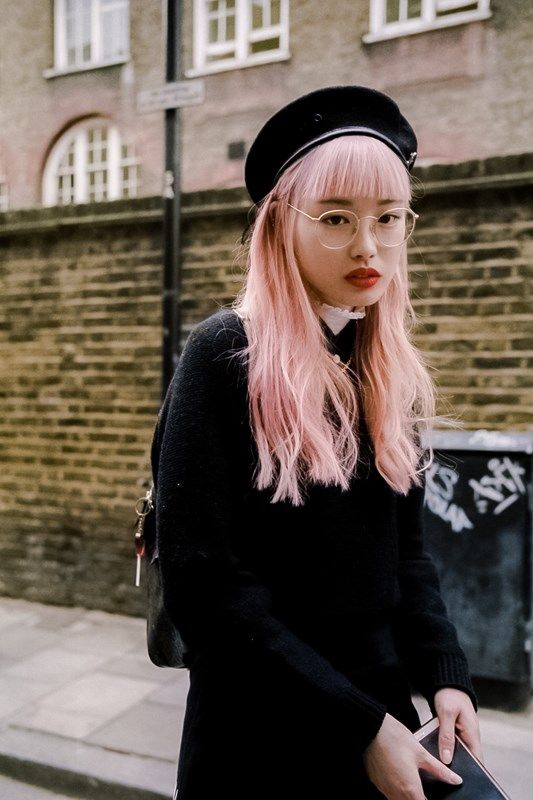 Pink Hair Don't Care. - Says it all really - amazing.