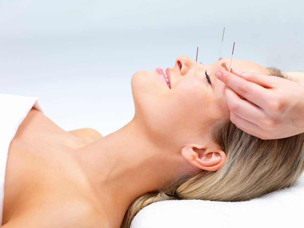 """""""Acupuncture needles are painless."""""""