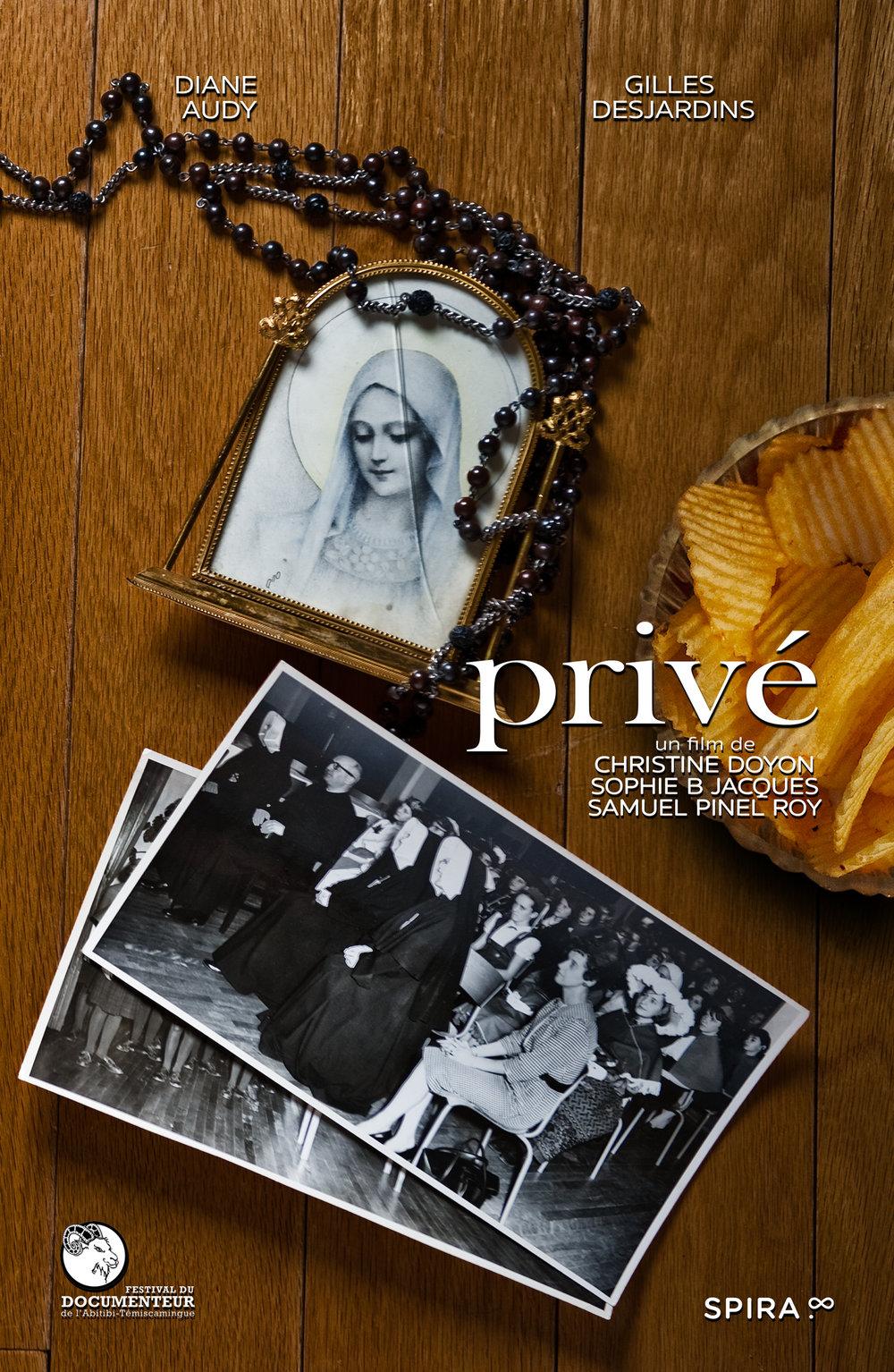 PRIVÉ  - 9 min - docu-fiction - 2015