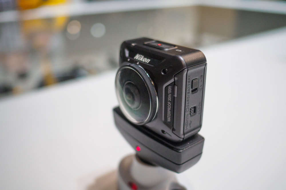 Nikon Keymission 360.