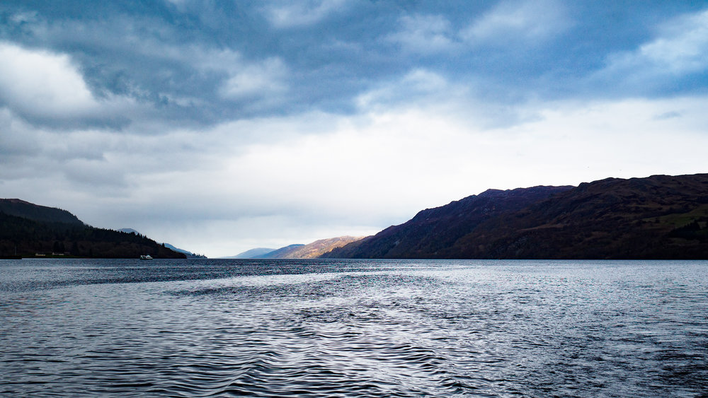 Loch Ness, toukokuussa 2016.