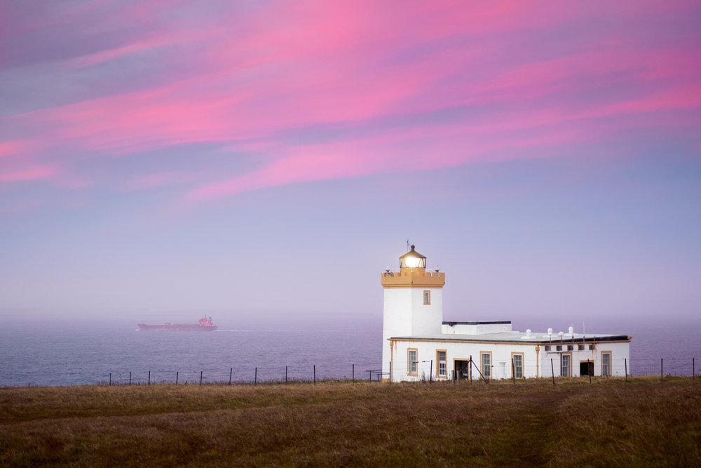 Duncansby Head Lighthouse, Scotland,1/13 f53.5, Olympus OMD EM-5 MKII, M.Zuiko 30mm f3.5