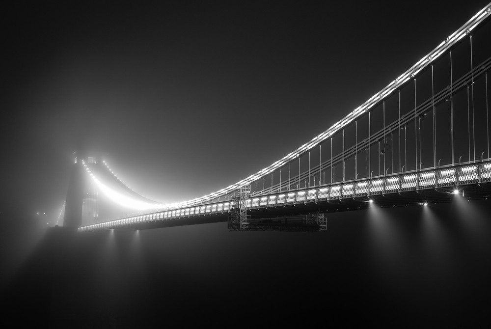 'Misty Bridge' 2013 -  Buy Print