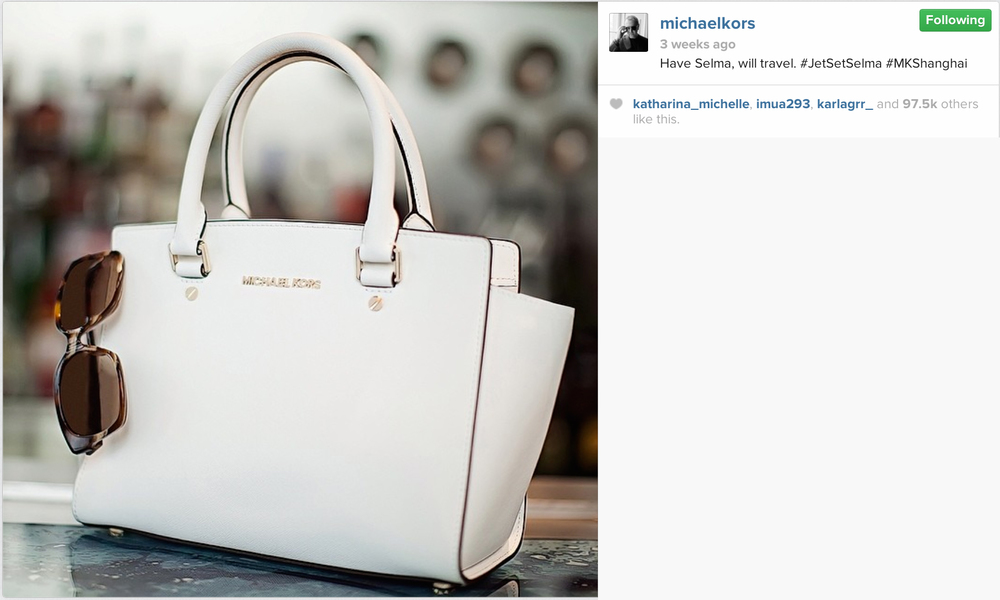 1503f4132a041 Our images for MICHAEL KORS featured on the official instagram page  www.instagram.com michaelkors