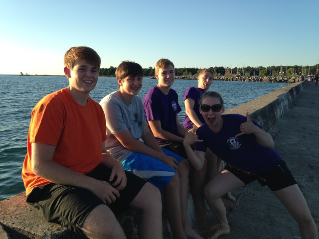 Canada 2014 - at beach.jpg
