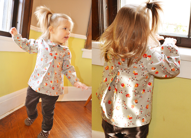 Clever Charlotte Chickadee Blouse Pattern sizes 2T-8