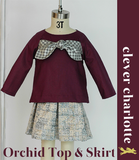 Introducing: Clever Charlotte Orchid Top & Skirt