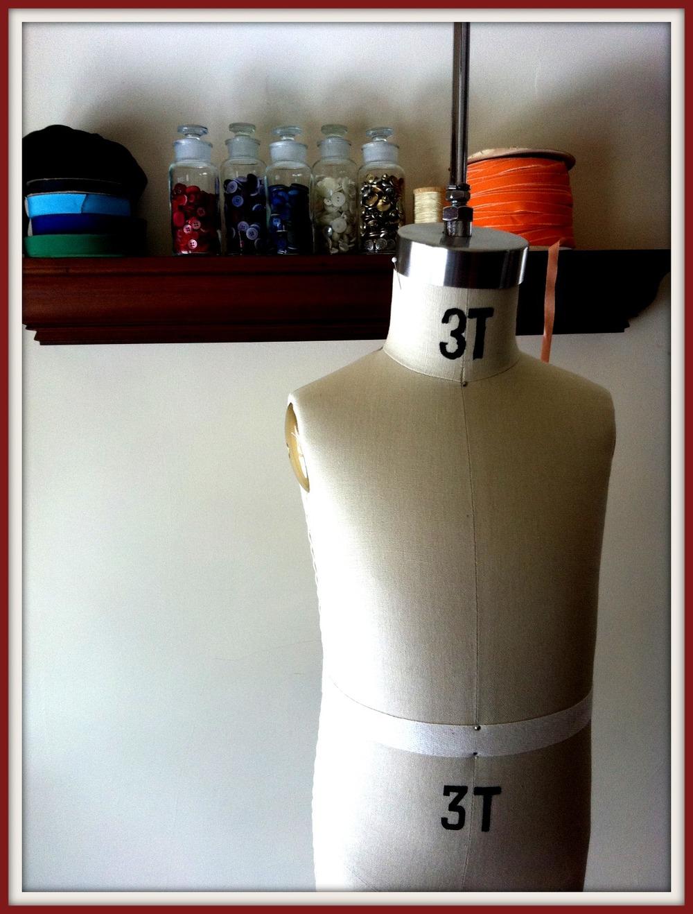 3T Dress Form