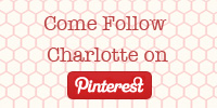 Follow Charlotte on Pinterest