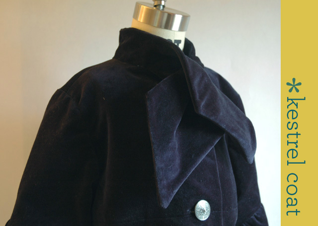 Navy Kestrel Coat