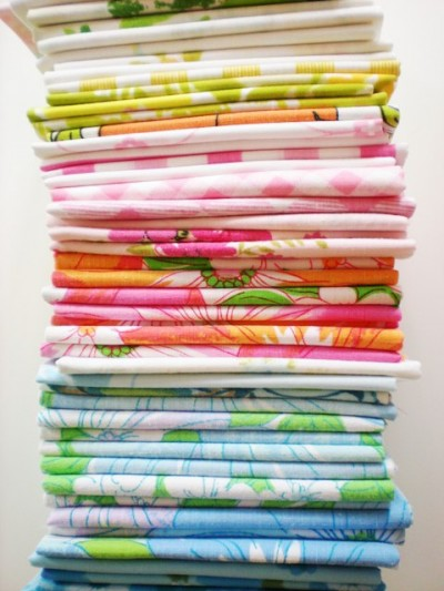Vintage Sheets from Pink Fawn Designs