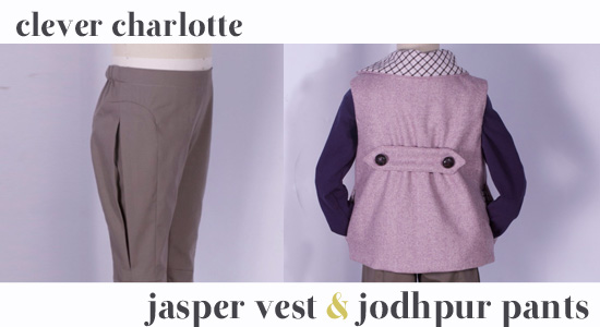Jasper Vest & Jodhpur Pants - details