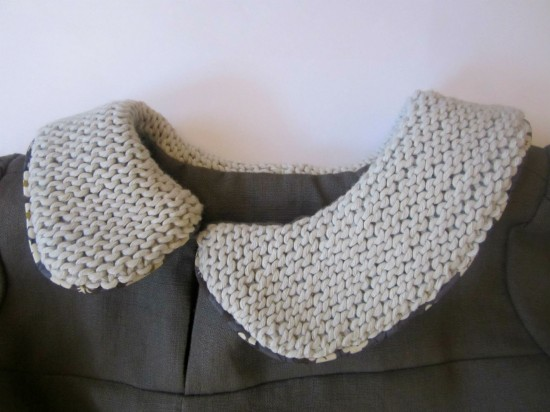 StraightGrain Knitted Collar2