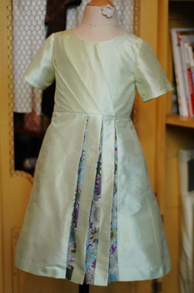Spring Olivine Dress // Clever Charlotte