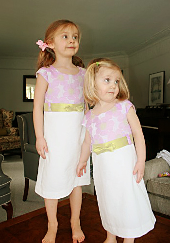 Olivine Dress makes a nice Easter Dress Pattern