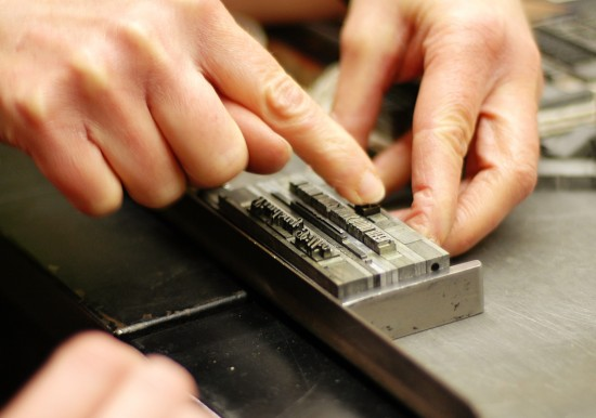 Letterpress - Composing Stick