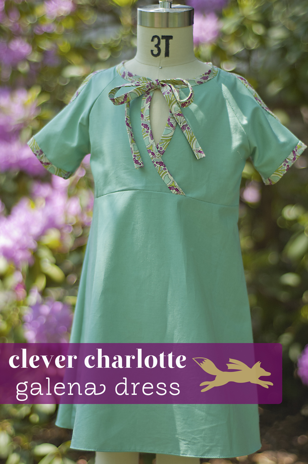 Galena Dress Pattern by Clever Charlotte