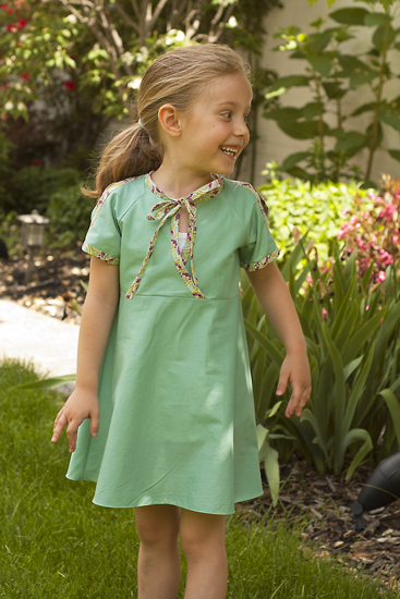 Galena Dress Sewing Pattern by Clever Charlotte
