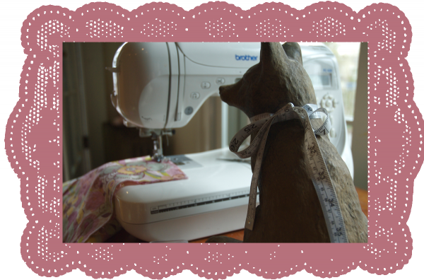 Charlotte Sewing the Finch Top