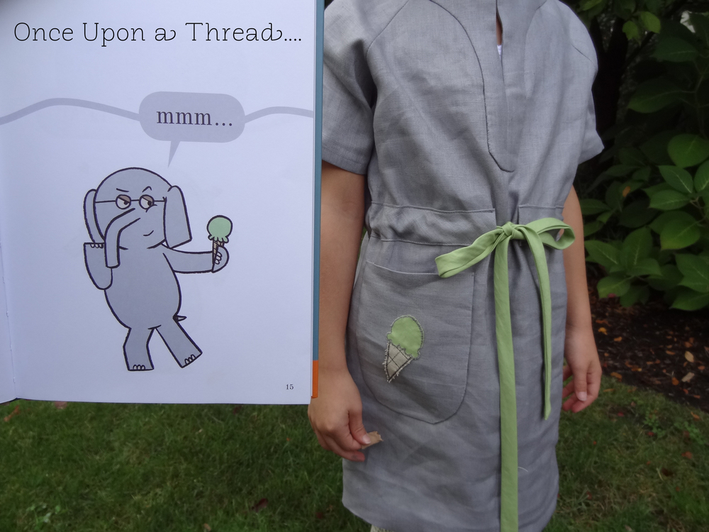 I'm so excited to show you what recently came out of my sewing room. This look is inspired by No Big Dill sewist, blogger, and mom-extraordinaire Katy Dill's   Once Upon a Thread   sewalong!  Thanks Katy for the kick-in-the-rear to make something fun.