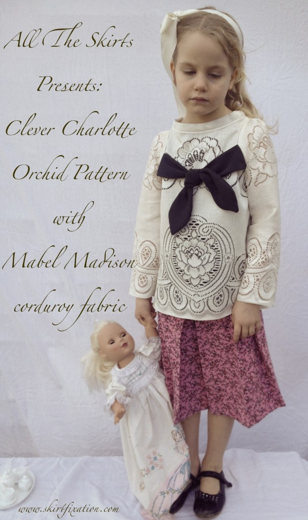 Audrey and her gals at Skirt Fixation have been busy elves sewing up our  Orchid  and  Chickadee  patterns. Using  Mabel Madison  and vintage fabrics, they have created some really stellar outfits.