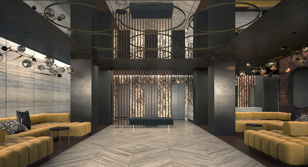 Beekman Tower Lobby