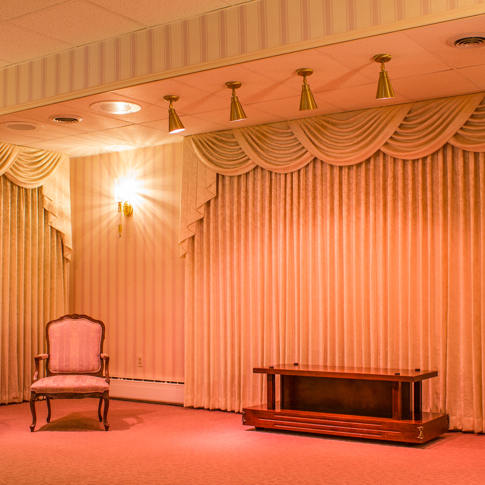 A Quiet Space: Seven Funeral Homes documents and explores the similar and often eccentric qualities of seven different funeral homes in the Delaware County area.