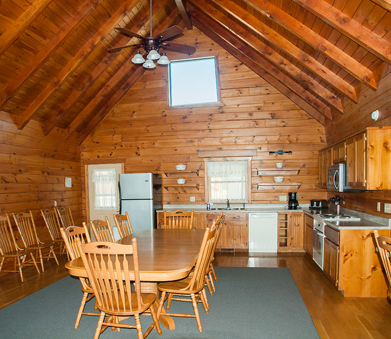 Missouri family vacation_Otter Creek Lodge_interior