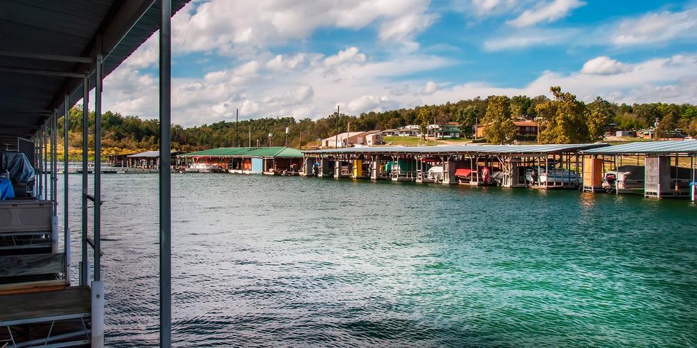 Theodosia Marina-Resort has a full service marina on Bull Shoals Lake in Southern Missouri.