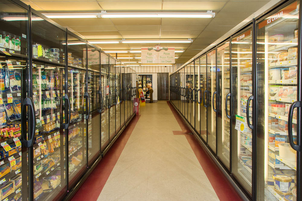Frozen foods and dairy