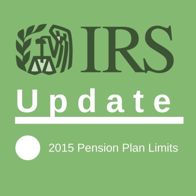 2015 pension limits