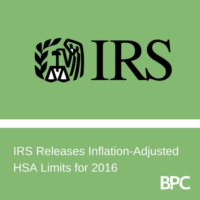 HSA Limits 2016