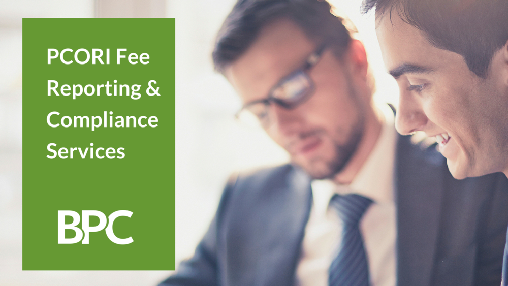 PCORI Fee Reporting and Compliance Services
