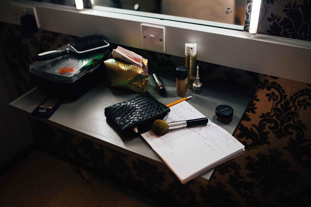 Details of Alyssa Kyria - behind the scenes